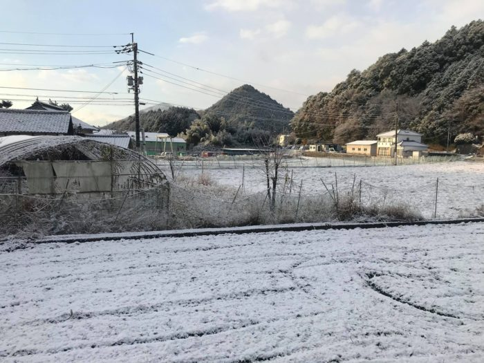 府中テンパール_南原工場雪02